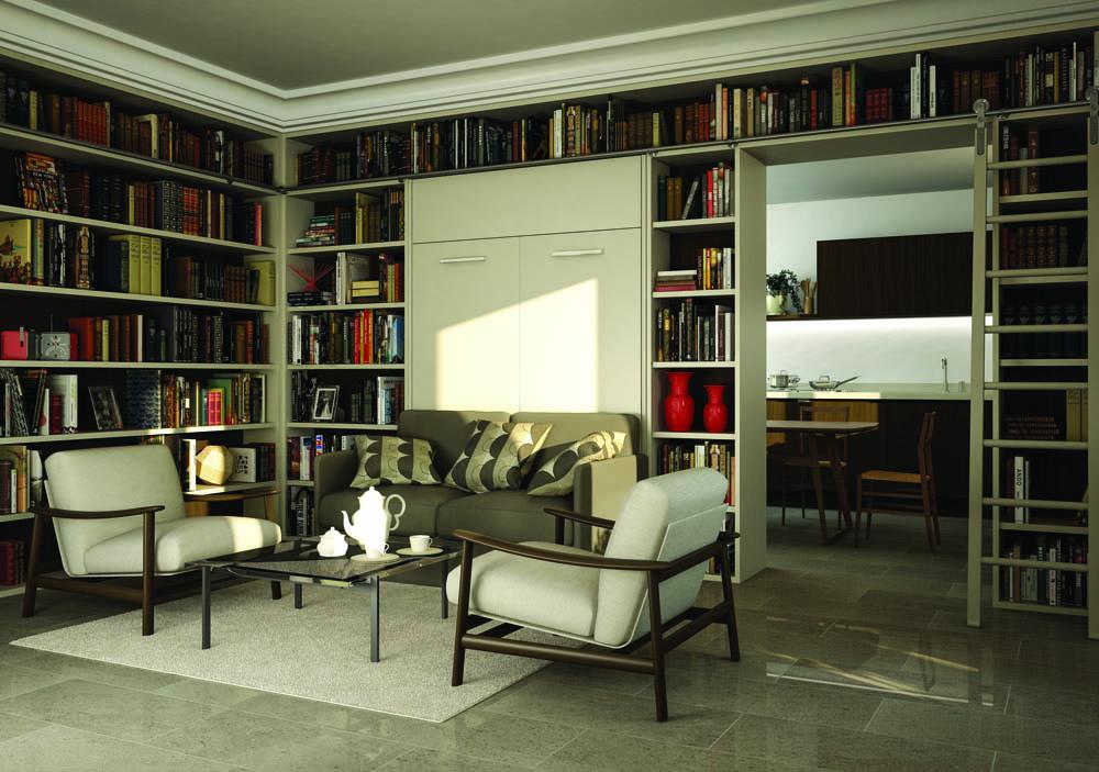 Libreria Con Letto A Scomparsa : Libreria con letto a scomparsa letto a scomparsa con libreria